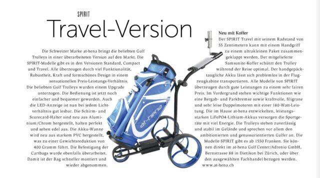 Golf Suisse SPIRIT