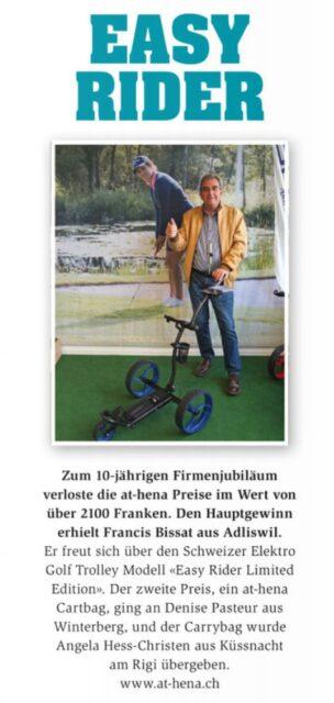 Magazin Golfsuisse, Ausgabe 6 2020